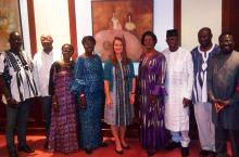 Melinda Gates in Burkina Faso