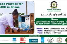 NDPC banner booklet launch