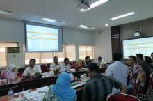 Meeting at Planning Department Aceh Province, Indonesia