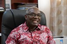 Dr Kodjo Mensah-Abrampa, director general of the NDPC Ghana