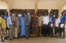 Participants at the first Brong Ahafo Regional Level Learning Alliance Platform meeting