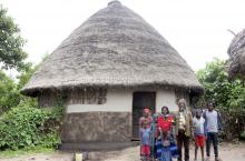 Household using an improved latrine at Shashogo
