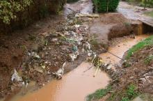 Polluted river (photo by Seleen Suidman)