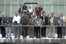 Participants during a field trip in India