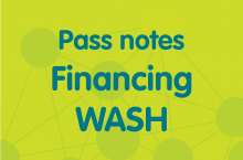 Pass notes financing WASH