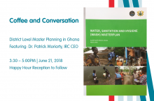 Coffee and Conversation: District Level Master Planning in Ghana