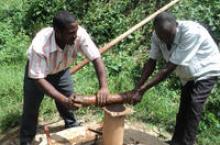 Hand pump mechanics