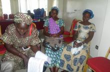Women at the Workshop on Gender and Waterservices