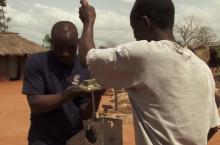 Making repairs in Ghana
