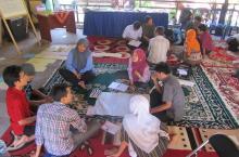 Capacity self-assessment workshop in Indonesia