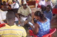 SMS training Ghana