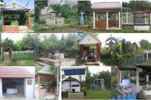 photographs of the local water and sanitation facilities