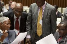 Governments discussing at SWA HLM 2012