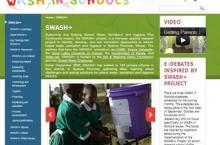 Screenshot of the SWASH+ website