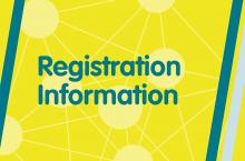 Symposium registration information banner