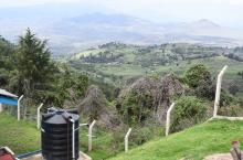 Water tank in Arusha, Tanzania (photo Lukas Kwezi)