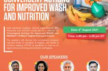 Convergent Actions For Improved WASH and Nutrition flyer