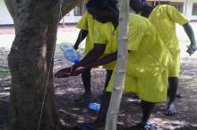 Uganda prison - tippy tap
