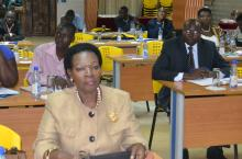 Members of the Uganda Parliamentarians Forum on WASH