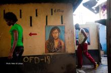 Urban sanitation Accra. Photo by Peter di Campo