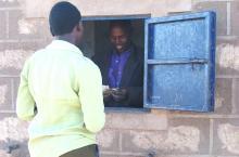 Water kiosk Kenya