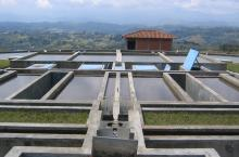 Water purification plant in Latin America
