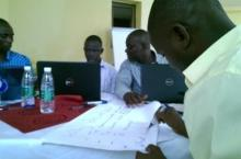 Participants in the writeshop