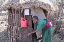 Household latrine, Picture from World Vision Ethiopia, 2016