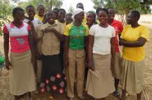 Young women in Burkina Faso