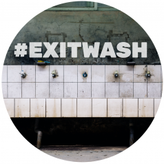 EXITWASH
