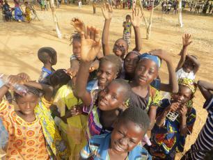 Burkina Faso happy kids