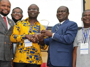 winners of the Sanitation Challenge for Ghana