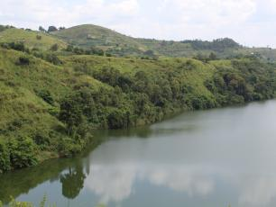 Mpanga river in Kabarole district, Uganda