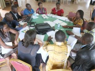 Triple-S project team meeting in Uganda