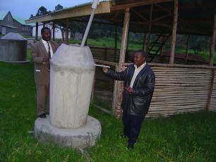 Low cost rainwater harvesting tank