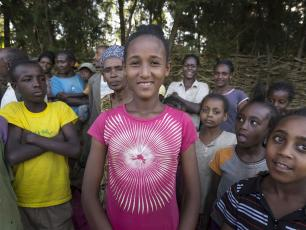 community in Ethiopia