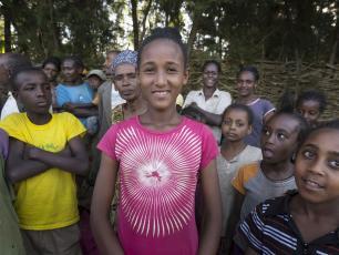 community in Ethiopia