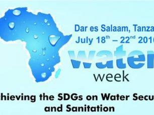 Africa Water Week logo