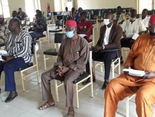 Participants at the self-assessment workshop in Banfora (Ph. N-R. ZOHOUN)