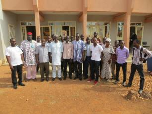 Participants of the Banfora workshop