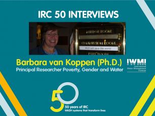 50 years of IRC: Interview with Barbara van Koppen