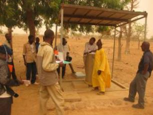 monitoring water services in Burkina Faso