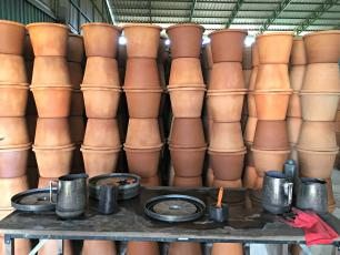 Filter pots at Hydrologic´s production facility