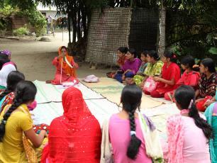 Menstrual hygiene education in BRAC WASH programme in Bangladesh