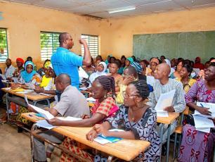 Aperçu des enseignants à la formation (Ph. D. Zongo)