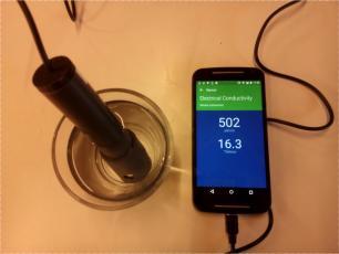Akvo Caddisfly - mobile water quality anaysis