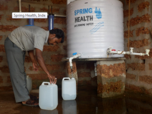 Spring Health International: an innovative model for the sale of HWTS