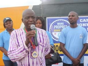 Yameogo Abdoul Karim, representing the mayor of the rural commune of Mogtedo (Ph. Production Universal)