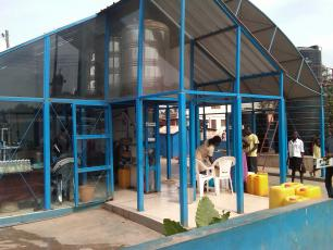 WaterHealth Centre in Accra, Ghana