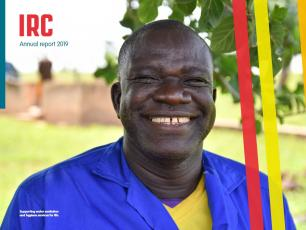 Douossou Sourabie, maintenance worker and proud member of the WASH system at the ONEA treatment facility in Banfora